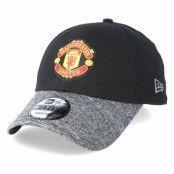 Keps Manchester United Marl Vize 9Forty Black Adjustable - New Era - Svart Reglerbar
