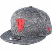 Keps Manchester United Red Devil Jersey Grey Adjustable - New Era