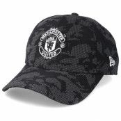 Keps Manchester United Reflect Camo 9Fifty Black Adjustable - New Era - Camo Reglerbar