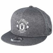 Keps Manchester United Shadowtech 9Fifty Charcoal Snapback - New Era - Grå Snapback