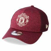 Keps Manchester United Stretch Specter Mesh 39Thirty Maroon Flexfit - New Era