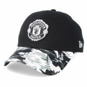 Keps Manchester United Vize 9Forty Black/Camo Adjustable - New Era - Svart Reglerbar