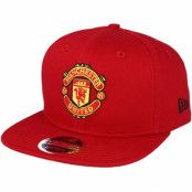 Keps Manchester United Visor Print 9Fifty Red Snapback - New Era - Röd Snapback