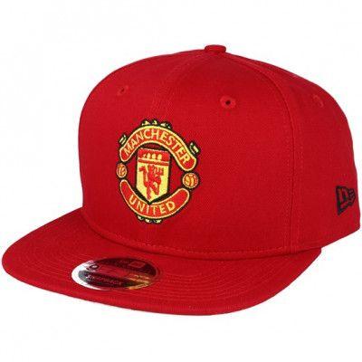 Keps Manchester United Visor Print 9Fifty Red Snapback - New Era - Röd Snapback