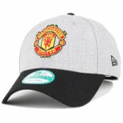 Keps Manchester United Heather Grey 940 Adjustable - New Era - Grå Reglerbar