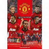 Manchester United Väggkalender 2014