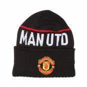 Mössa Manchester United Black Beanie - New Era - Svart Uppvikt