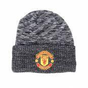 Mössa Manchester United Fall 19 Oversized Pattern Grey Cuff - New Era - Grå Uppvikt