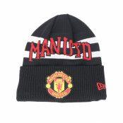 Mössa Manchester United Fall 19 Team Knit Black/White/Red Cuff - New Era - Svart Uppvikt