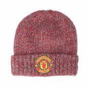 Mössa Manchester United Marl Knit Scarlet Cuff - New Era - Röd Uppvikt