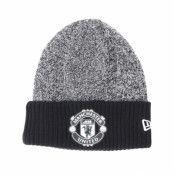 Mössa Manchester United Rob Knit Black Cuff - New Era - Grå Uppvikt