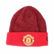 Mössa Manchester United Rob Knit Scarlett Cuff - New Era - Röd Uppvikt