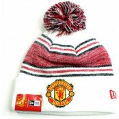 Manchester United Mössa Bobble Vit