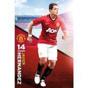 Manchester United Affisch Hernandez 64