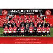 Manchester United Affisch Squad 84