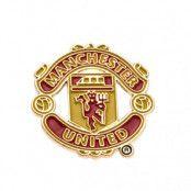 Manchester United Pinn Golden Crest