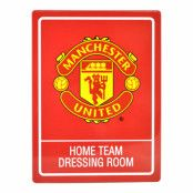Manchester United Skylt Hemmalag
