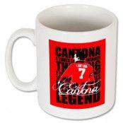 Manchester United Mugg Cantona Legend