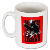 Manchester United Mugg Ferguson Legend