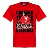 Manchester United T-shirt Eric Cantona Legend S