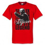 Manchester United T-shirt Ferguson Legend S