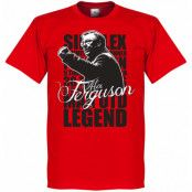 Manchester United T-shirt Legend Ferguson Legend Röd XS