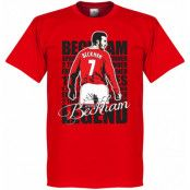 Manchester United T-shirt Legend Legend David Beckham Röd XS