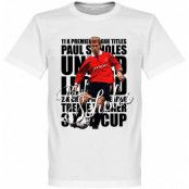Manchester United T-shirt Legend Legend Paul Scholes Vit XS