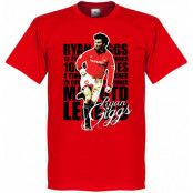 Manchester United T-shirt Legend Legend -Red Ryan Giggs Röd XS