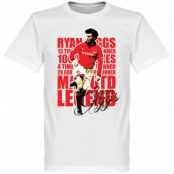 Manchester United T-shirt Legend Legend Ryan Giggs Vit XS