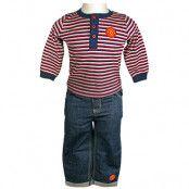 Manchester United T-shirt och Jeans 3-6 mån