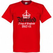 Manchester United T-shirt Winners United 12-13 Kings Of England Röd XS
