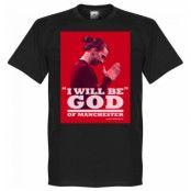 Manchester United T-shirt Zlatan God Svart S