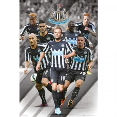 Newcastle United Affisch Players 99