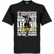Newcastle T-shirt Legend Shearer Legend Svart XXL