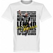 Newcastle T-shirt Legend Shearer Legend Vit XS