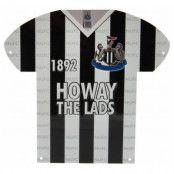 Newcastle United Metallskylt Shirt