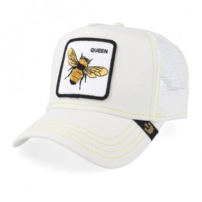 Keps Queen Bee White/White Trucker - Goorin Bros. - Vit Trucker
