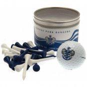 Queens Park Rangers Golfboll & Peggar