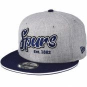 Keps Tottenham Hotspur 9Fifty Scrupt Heather Grey Snapback - New Era - Grå Snapback