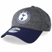 Keps Tottenham Hotspur Fall 19 Jersey Crown Grey/Navy Adjustable - New Era - Grå Reglerbar