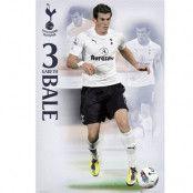 Tottenham Hotspur affisch Bale 72