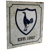 Tottenham Hotspur Skylt Retro