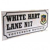 Tottenham Hotspur Vägskylt Retro