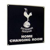 Tottenham skylt hemmaomklädningsrum