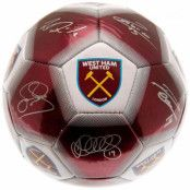 West Ham United Fotboll Signature WT