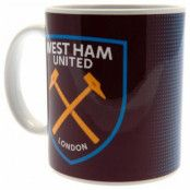 West Ham United Mugg Halftone
