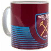 West Ham United Mugg LN