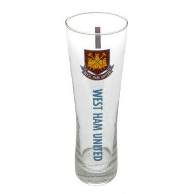 West Ham United Ölglas Högt Wordmark Old Crest 1-pack