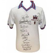 West Ham United Signerad Fotbollströja FA Cup Final 1980